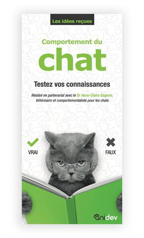leaflet chat questionnaire comportement