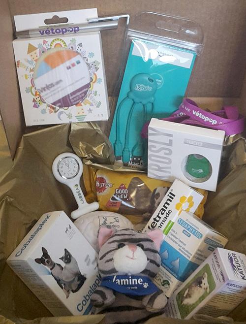 box cadeaux auxiliaire